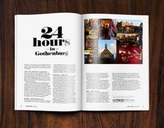 Hotel Magazine by Per Tannergård, via Behance