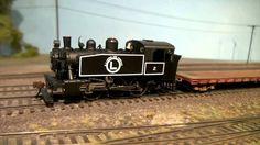 USATC S100 side-tank steamer | HO steam loco demo | Model Railroad Hobby...