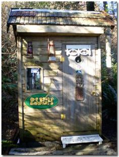The LUSHious Outhouse in British Columbia    Photo contributed by David B.