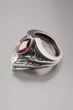 Hey, I found this really awesome Etsy listing at https://www.etsy.com/listing/91723281/engraved-armor-statement-ring-with