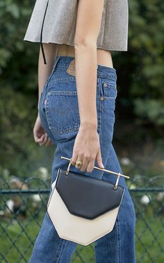 Wear a geometric statement purse to prove you have a sharp sense for style. Shop M2Malletier purses and more inspiration on eBay.