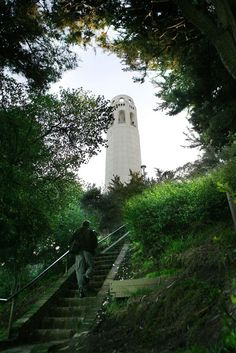 You've already made the trek up the Filbert Steps, but have you tried the nearby Greenwich Steps? The lovely, verdant stairway used to lead to the Gold Rush semaphore which signaled to San Franciscans what types of ships were coming into the port. You can get to the Greenwich Steps from anywhere on downtown Market by taking the F streetcar inbound and exiting at Greenwich and Embarcadero. Photo: Michael Maloney, The Chronicle
