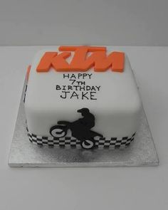 ktm birthday cake - Google Search