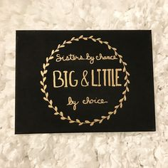 Big and little canvas