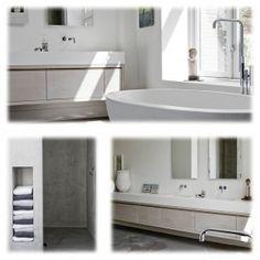 Badkamer ontworpen en gemaakt door Piet-Jan van den Kommer