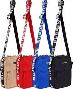 13ee18890f 2019 NEW Supreme Shoulder Bag Box Logo Waterproof Nylon Backpack