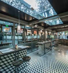 Neri&Hu bases Shanghai burger restaurant on 1950s diners