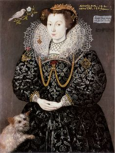 Elizabeth Brydges,1589  , Reinette: English Portraits from 1540-1630