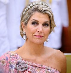 King Willem-Alexander and Queen Maxima attended a state banquet in New Delhi/ Oct. Princess Stephanie, Princess Estelle, Princess Charlene, Princess Madeleine, Crown Princess Victoria, New Delhi, Delhi India, Plus Size Jewellery, Pregnant Princess