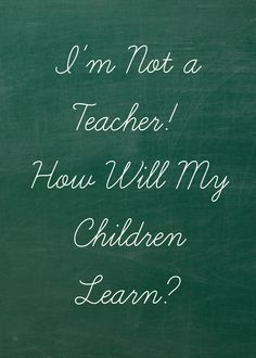 """But how will your child learn ______ when you didn't do well in that subject?"" Here's my answer! (Homeschooling)."