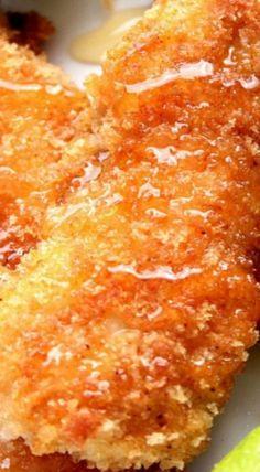 Crunchy Honey Lime Chicken