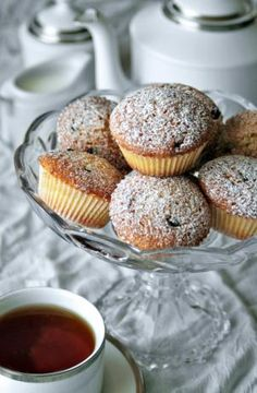 Regency Queen Cakes - individual cakes studded with fruit and flavoured with rosewater and almonds