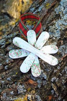 Snowflake Ornament Craft for Kids — Fireflies and Mud Pies