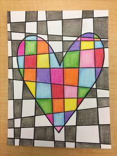 Classroom Art Projects, School Art Projects, Art Classroom, Fall Canvas Painting, Grade 1 Art, Valentines Art, Middle School Art, Art Lessons Elementary, Art Club