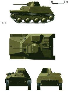 Т -30  с пушкой ШВАК