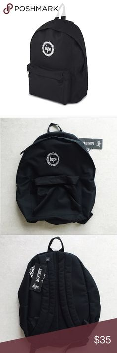 NWT Hype Backpack Brand new with tags  Extremely cute and great for traveling or school.   No Trades Bundle to save Hype Bags Backpacks
