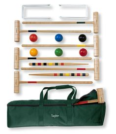 Croquet is such a fun game for summer. Sold by LL Bean