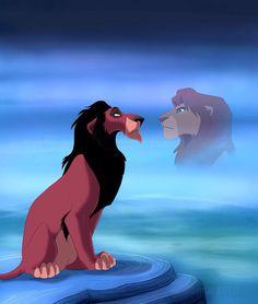 The lion king Scar and Mufasa Simba E Nala, Scar And Mufasa, Scar Lion King, Lion King Fan Art, Lion King Movie, King Simba, Simba Disney, Disney Pixar, Disney Lion King