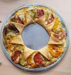 Tarte soleil aux trois tomates - Recettes de cuisine | marciatack.fr