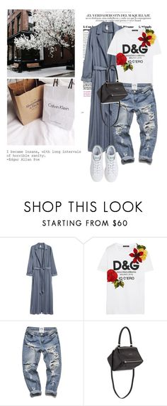 """Untitled #1988"" by ivonce ❤ liked on Polyvore featuring Chanel, Master-Piece, Dolce&Gabbana, Givenchy and adidas"