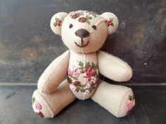 Collectible Bear FigurineOriginal Artist by CodettiSupply on Etsy