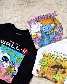 Revive the year 2007 with the new Ratatouille T-Shirt. This throwback Disney Pixar tee has a classic everyday construction and a front graphic featuring the cartoon film's lead character. Pacsun, Disney Pixar, Graphic Tees, Kawaii, Cartoon, Classic, T Shirt, Character, Tops