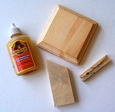 Mod Podge a DIY recipe holder. - Mod Podge Rocks