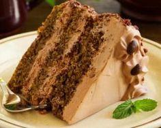 Chocolate Coffee Cake Recipe with Chocolate Buttercream Fros… - All Recipes Chocolate Cake With Coffee, Café Chocolate, Coffee Cake, Chocolate Lovers, Food Cakes, Tea Cakes, Boston Cream Cupcakes Recipe, Cafe Moka, Marble Cake Recipes