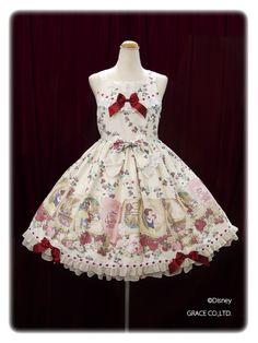 Baby the Stars Shine Bright - White Snow White Print JSK