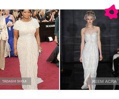 Vestidos de noiva inspirados no Oscar 2012