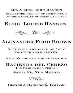 """""""Sophisticate"""" Wedding Invitation Stamp - Antiquaria"""