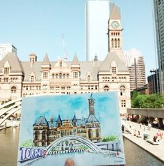 Toronto City, Urban Sketchers, City Council, Romanesque, Old City, Sketching, Mansions, Architecture, House Styles