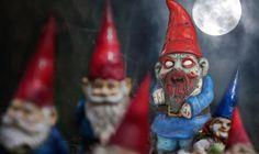 Win a zombie gnome!