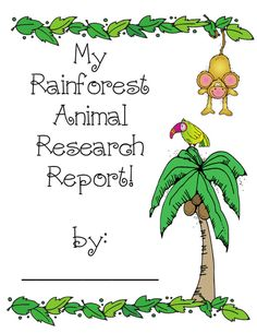 Teacher Bits and Bobs: Rainforest Animal Research Report Rainforest Classroom, Rainforest Activities, Rainforest Project, Rainforest Theme, Rainforest Animals, Rainforest Habitat, Science Classroom, Classroom Themes, Classroom Activities