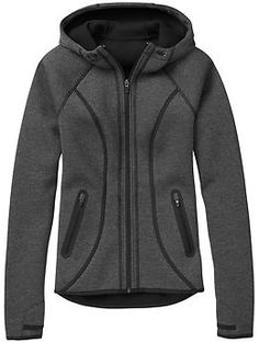 Fuse Jacket - The cozy hoodie made from structured fabric to keep you warm on days that arent cold enough for a coat.