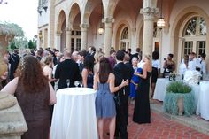 Reception on the Philbrook Terrace