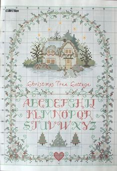 Gallery.ru / Фото #35 - Cross Stitch Collection 190 рождество 2010 - tymannost