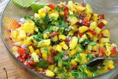 Ultimate Caribbean Salsa Topping For Tacos, Hotdogs & Burgers.