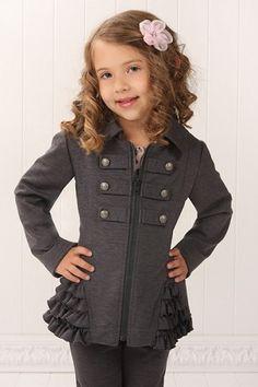 Ralph Lauren Childrenswear Girls' Little Tweed Jacket - Sizes 4-6 ...