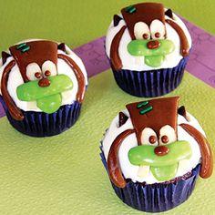 Franken Goofy Cupcakes