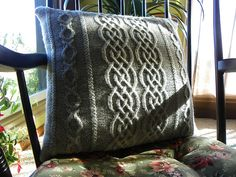 Ravelry: Divine Divan Pillow pattern by Sue Fischer