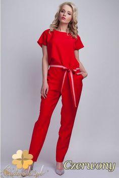 Modny kombinezon damski marki Lanti.  #cudmoda #moda #ubrania #odzież #clothes #kombinezony