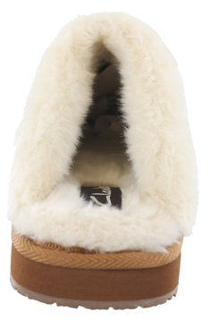 393f683c9fc9 Clarks Ginger Women Quilted Open Back Slipper 11 Cognac    More info could  be found