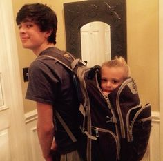 My favorites ❤️ @hayesgrier and Skylynn