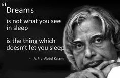 ABSOLUTELY LOVE this A.P.J. Abdul Kalam quote