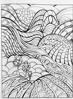 Amazon Creative Haven Magical Landscapes Coloring Book Adult 9780486799513