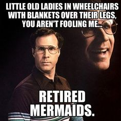 brilliant. if I ever have to use a wheelchair I am so wearing a mermaid fin every day.