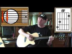 Across The Universe - The Beatles - Acoustic Guitar Lesson (easy-ish) - YouTube
