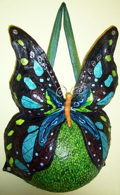 butterfly belly cast.  I love this idea!