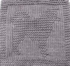 Knitting Cloth Pattern - ALASKAN MALAMUTE - PDF - Instant Download